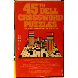com DELL CROSSWORD PUZZLES #45 (9780440119012) Rosalind Moore Books