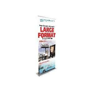 Ultra Retractable Single Side Banner Stand Office