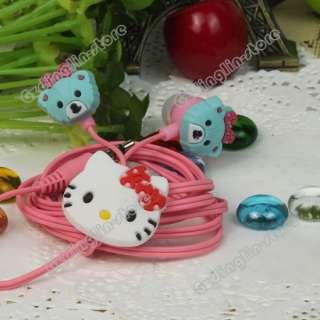 Hello Kitty Lady 3.5mm Headset Earphone Earbuds Headphones In Ear