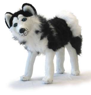 NEW Soft Stuffed Plush Animal Doll SIBERIAN HUSKY DOG