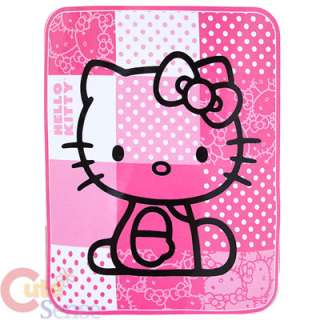 Sanrio Hello Kitty Plush Throw Blanket Microfiber Pink