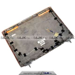 NEW Genuine Dell Inspiron 1520 1521 Red LCD Cover Top Lid with Hinges