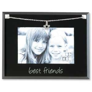 Sixtrees GT34346 Glass Necklace Best Friends