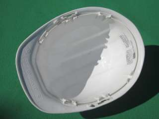WHITE OMEGA II CONSTRUCTION HELMET SAFETY HARD HAT