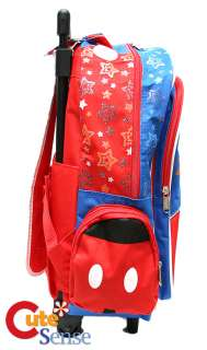 Disney Mickey Mouse Roller Backpack/Bag16 Large B L