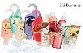 Avon Naturals *** Body Spray~Body Lotion~Shower Gel~Shampoo