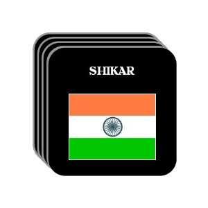India   SHIKAR Set of 4 Mini Mousepad Coasters