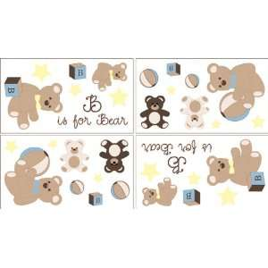 Baby and Kids Wall Decal Stickers   Set of 4 Sheets