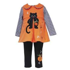 KITTY CAT Halloween Theme Dress/Tunic Leggings/Pants Outfit/Set