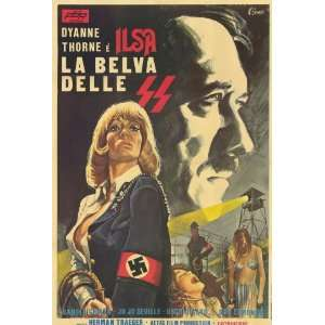 Ilsa, She Wolf of the SS Movie Poster (27 x 40 Inches