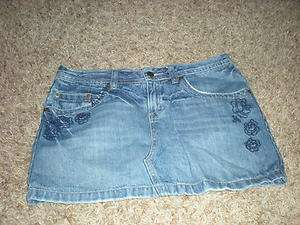 Skirt Jean Size 7 SO Clothes Clothing Juniors Young Adult