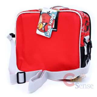 Angry Bird School Backpack Lunch Bag Red Bird Pig 7