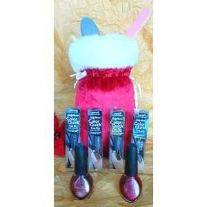 piece Nail Art Gift Set (S30) 2 OPI Nail Laquers, 4 Sally Hansen Nail