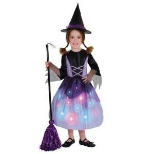 Light up Witch Child Costume Small 4 6 Toys & Games