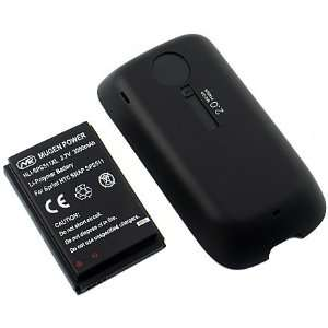 NEW MUGEN 2600mAh EXTENDED BATTERY DOOR FOR SPRINT SAMSUNG INSTINCT HD