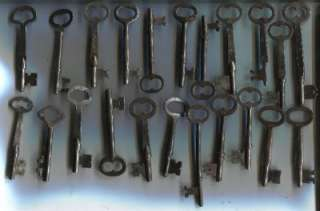 Key Box Lot VTG Keys Old Door Lock Deco Corbin Sargent Jail 20+