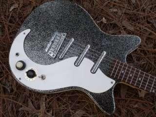 Korean DC3, Black/Silver Metal Flake,Mint W/Gigbag