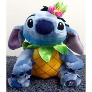 Lilo and Stitch 11 Inch Tropical Pineapple King Stitch Plush Doll
