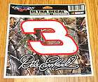 XTRA LARGE DALE EARNHARDT #3 GOODWRENCH CHEVY NASCAR RACING DECAL