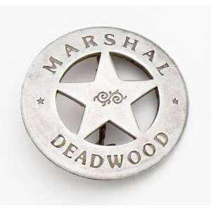 SILVER DEADWOOD MARSHALL BADGE: Everything Else