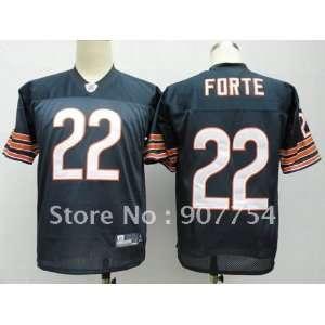 chicago bears #22 matt forte navy blue jersey chicago bears jerseys