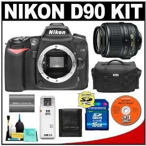 Nikon D90 Digital SLR Camera + 18 55mm AF S DX VR Nikkor