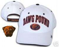 Cleveland Browns Dawg Pound Hat NFL Reebok Authentic