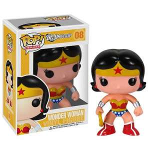 FUNKO POP HEROES DC UNIVERSE WONDER WOMAN VINYL FIGURE