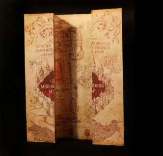 Package #1. The Marauders Map of Hogwarts Castle!