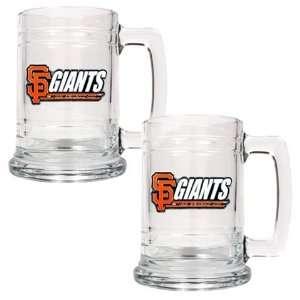 San Francisco Giants Set of 2 Beer Mugs