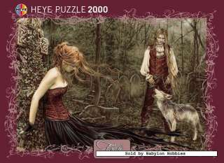 picture 3 of Heye 2000 pieces jigsaw puzzle Victoria Frances   Wolf