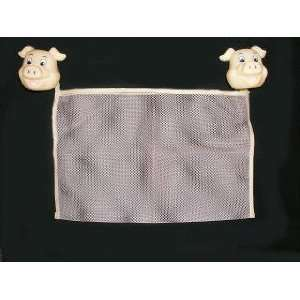 PIG Mesh Bath Bathtub Tub Toy BAG bathroom home decor