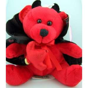 Valentines Day Devil Plush Pals Teddy Bear Toy W/ Heart