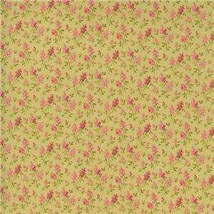 RJR Chelsea Rose Pink Mauve Calico Floral Quilt Fabric