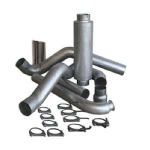 Dog 83410 5 Aluminized Steel Turbo Back Single Exhaust Kit with Tip