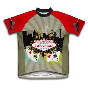 Las Vegas Fever Cycling Jersey for Men: Sports & Outdoors