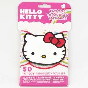 Kitty 3D Novelty Pack of 50 Temporary Tattoos