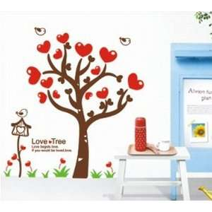 Hearts with Quote Wall Sticker Decal for Kids Room Living Room: Baby