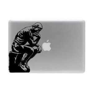 Thinker Rodin Paris macbook laptop skin decal sticker