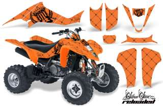 AMR ATV GRAPHICS STICKER KIT KAWASAKI KFX400 KFX 03 08