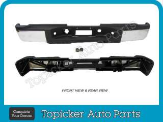CHEVY SILVERADO / GMC SIERRA REAR STEP BUMPER REINFORCEMENT IMPACT BAR