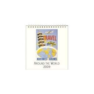 Around the World 2009 Easel Desk Calendar Books