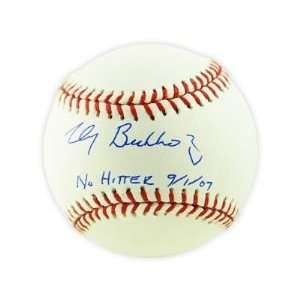 Clay Buchholz Boston Red Sox Hand Signed Rawlings MLB Baseball with No