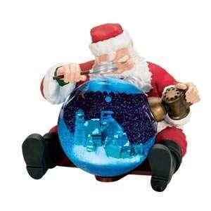 Mr. Christmas Animated Musical Santa Claus Snow Globe #39881