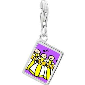 Pugster 925 Sterling Silver Gold Plated Religion Christian