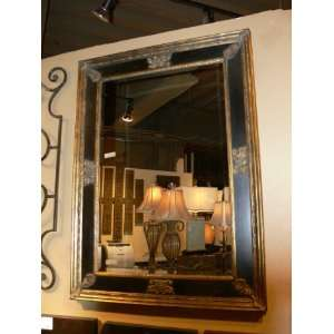 Extra Large Ornate Black Gold Wall Mirror Oversize