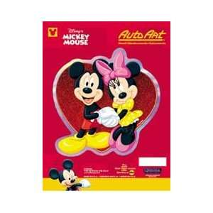 Mickey Mouse & Minnie Mouse Decal Sticker