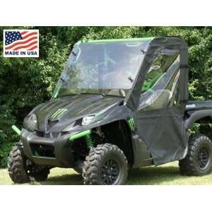 GCL UTV Kawasaki Teryx Door/Rear Window Combo Enclosure. KAWTRX DRW