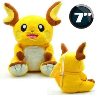 Nintendo Pokemon Raichu Soft Plush Doll Toy P10