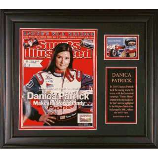 PATRICK, DANICA FRAMED INDY 500 SPORTS ILLUSTRATED w/CARD
